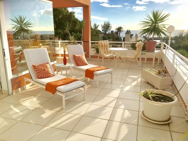Penthouse Paraiso Mogan  - Luxury 2 bedroomed  - fabulous views - Main Terrace