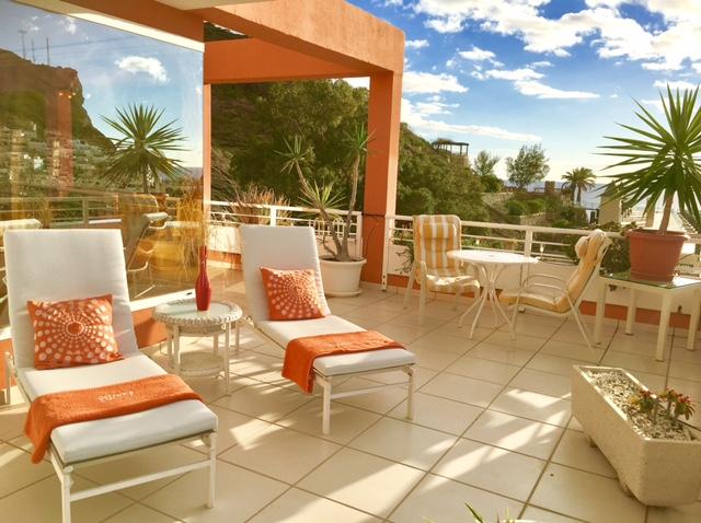 Penthouse Paraiso Mogan  - Luxury 2 bedroomed  - fabulous views - Sun terrace