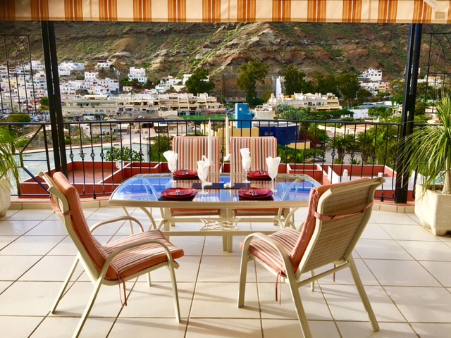 Penthouse Paraiso Mogan  - Luxury 2 bedroomed  -  fabulous views - Terrace Dining