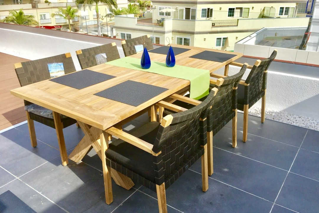 Pescadores  - 3 Bed Penthouse  - Beachside Luxury - Roof Terrace Dining with Fabulous views