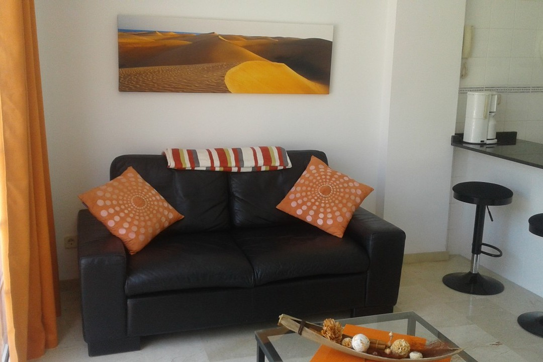 Playa Mogan - 1 Bed Apartment - Central Location - Lounge