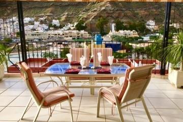 Penthouse Paraiso Mogan  - Luxury 2 bedroomed  - fabulous views - Terrace Dining