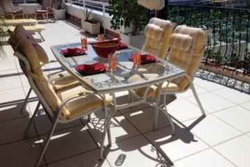 Penthouse Paraiso Mogan  - Luxury 2 bedroomed  - fabulous views - Dining on terrace