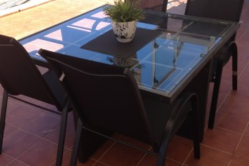 Vista Parq 6 - 1 Bed Apartment - Close to Beach - Dining  outside