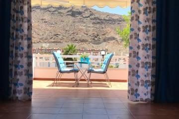 Mogan  El  Marinero - 1  bedroom + 2 bathrooms. - Morning Terrace View