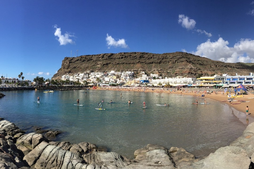 Gran Canaria now has the most Blue Flag beaches in the Canary Islands - Playa Mogan beach, Gran Canaria